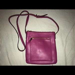 Lauren Ralph Lauren purple crossbody